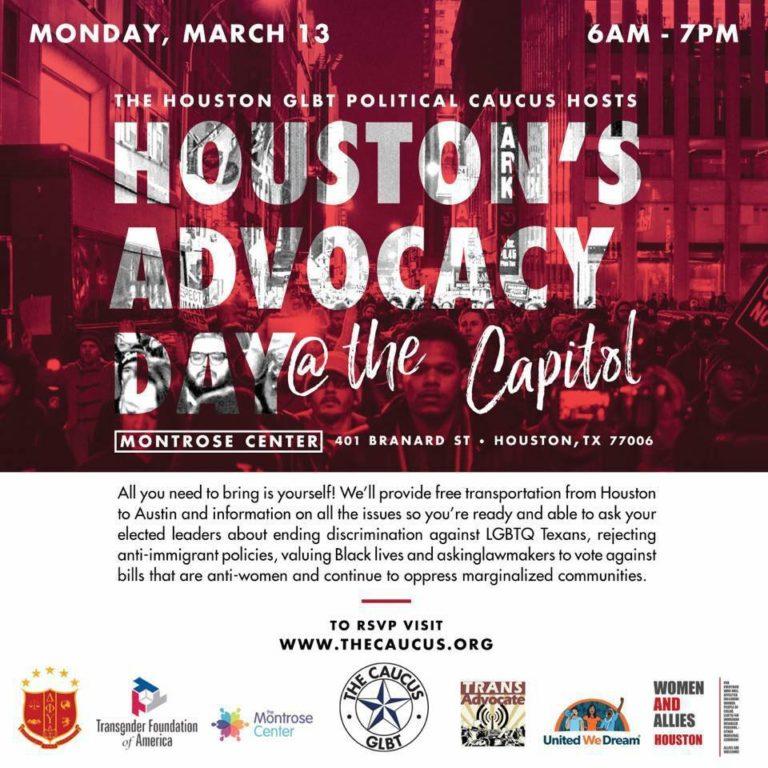 houston goes to the capitol glbt political caucus