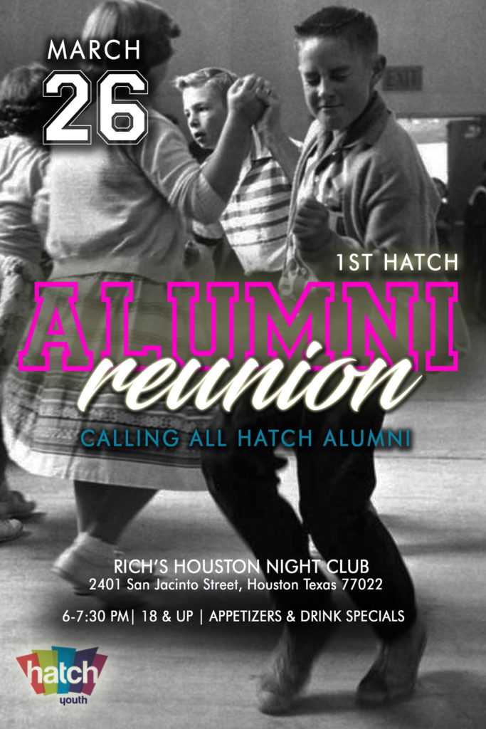Alumni Reunion Hatch Youth Flyer