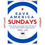 Save America Sundays at the REC ROOM