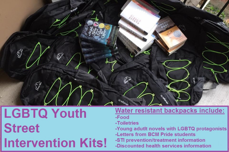 lgbtq youth street intervention kits go fund