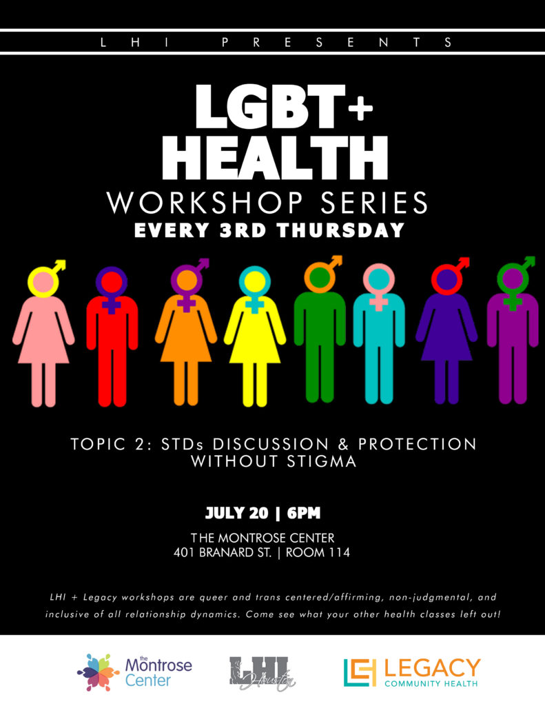 LGBT Health Workshop Series 2 np