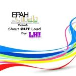 EPAH Presents Shout OUT Loud for LHI 9/16