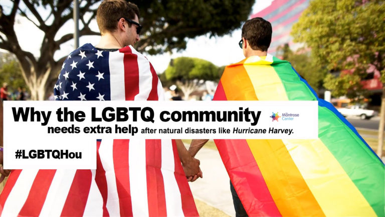 #LGBTQHou why the lgbtq community needs extra