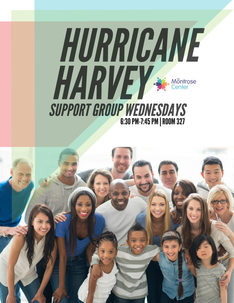 hurricane harvey SUPPORT GROUP