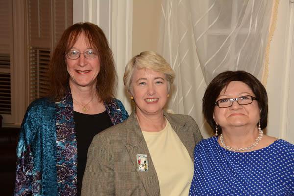 Evelyn Carlson, Annise Parker, Karen Carlson