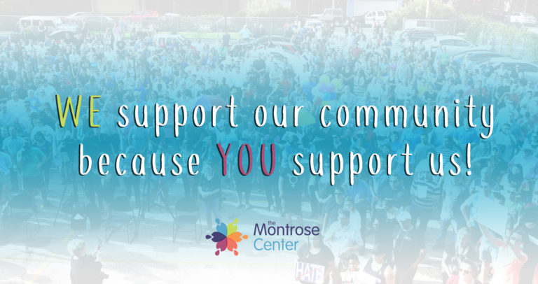 We support our community bc you support us