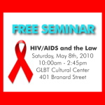 Free legal seminar for PLWHAs, providers and loved ones