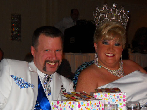 Falcon & Sheri at Coronation
