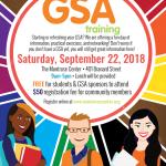 GSA Training