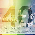 Houston Pride Band 40th Anniversary